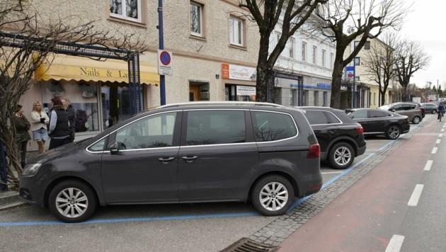 Seit September werden die Kurzparkzonen im Stadtteil Neustadt verschärft überprüft (Bild: Wenzel Gerhard)