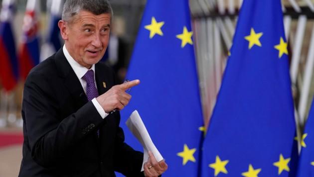 Der tschechische Ministerpräsident Andrej Babis (Bild: AFP)
