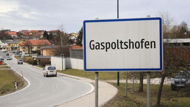 Gaspoltshofen startet als erste der sechs Anrainergemeinden mit den Bauarbeiten. (Bild: Helmut Klein)