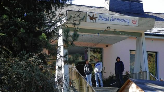 """Zu Spitzenzeiten waren im """"Haus Semmering"""" 250 Flüchtlinge untergebracht. (Bild: Krone)"""