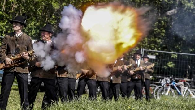 Salzburger Prangerstutzenschützen sahen sich mit einer Klage konfrontiert (Bild: Tschepp Markus)
