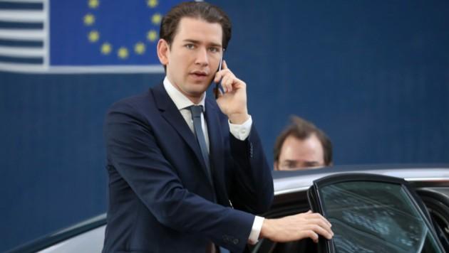 Sebastian Kurz (Bild: AFP)