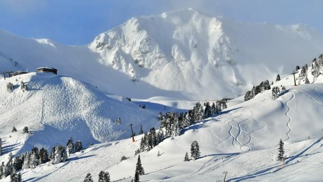 Das Skigebiet Obertauern (Bild: APA/BARBARA GINDL)