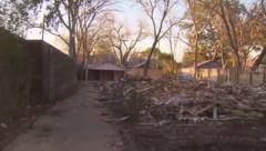 Der Hausbesitzer erfuhr von Nachbarn, was passiert war. (Bild: kameraone)