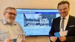 Johannes Lebitsch und Wolfgang Germ freuen sich über viele Mitglieder! (Bild: AAvK)