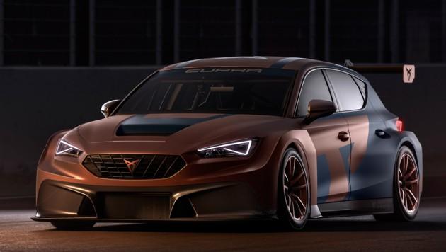 Der 340 PS starke Cupra Leon Competition soll bei den TCR-Serien und Langstreckenrennen an den Start gehen. (Bild: Cupra)