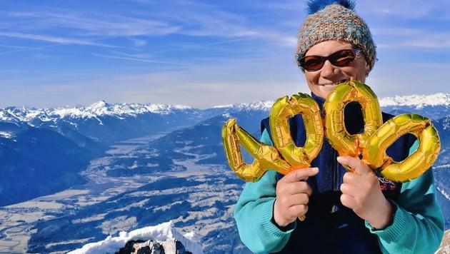 4000 Mal stand Pauline auf dem Dobratsch (Bild: Wallner Hannes)