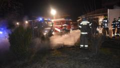 43 Floriani-Jünger rückten in der Nacht auf Sonntag aus. (Bild: Freiwillige Feuerwehr Abtenau)