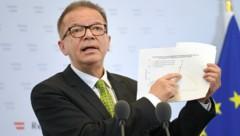 Gesundheitsminister Rudolf Anschober (Bild: APA/ROLAND SCHLAGER)