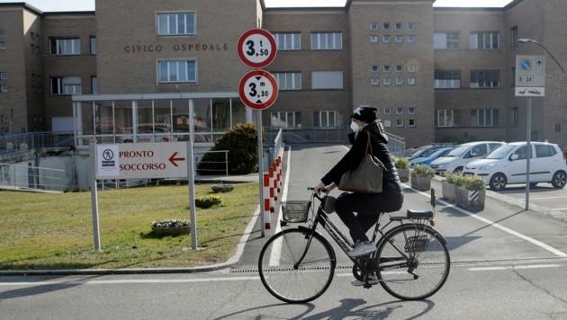In der Lombardei in Norditalien gibt es derzeit die meisten Coronavirus-Fälle. (Bild: AP)