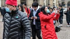 Touristen in Mailand (Bild: AFP)