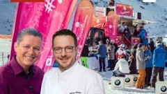 TV-Koch Alexander Fankhauser und Andreas Hillejan. (Bild: Snowlicious)