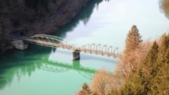 Die alte Lippitzbachbrücke. (Bild: Evelyn Hronek)