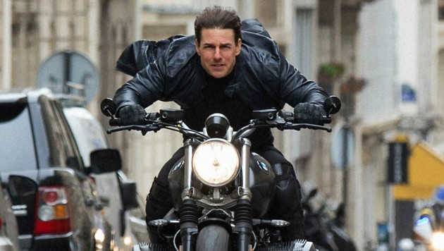 """Tom Cruise in einer Szene des Films """"Mission: Impossible - Fallout"""" (Bild: APA/ Paramount Pictures /Chiabella James)"""