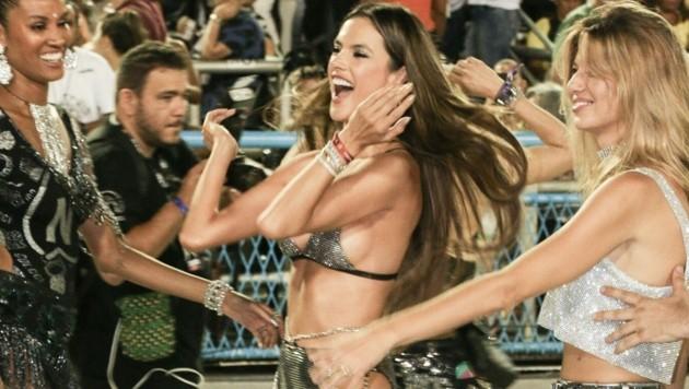 Alessandra Ambrosio feiert in Rio (Bild: www.PPS.at)