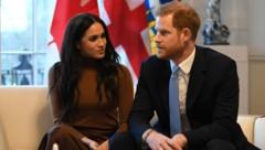 Prinz Harry und Herzogin Meghan (Bild: APA/AFP/Photo by DANIEL LEAL-OLIVAS)
