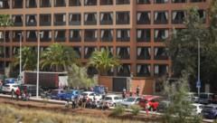 Das Hotel H10 Costa Adeje Palace in La Caleta auf Teneriffa (Bild: AFP or licensors)