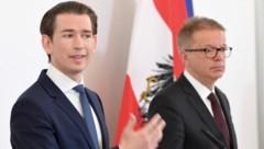 Bundeskanzler Sebastian Kurz und Gesundheitsminister Rudolf Anschober (Bild: APA/ROLAND SCHLAGER)