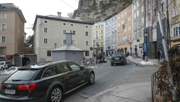 Die Stadt prüft, Autos aus der Gstättengasse zu verbannen (Bild: Tschepp Markus)