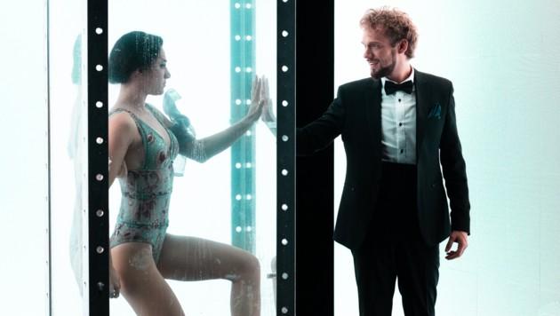 Thommy Ten und Amélie van Tass zeigen ihre Tricks auch in dem Musikvideo. (Bild: Matthias Köstler)