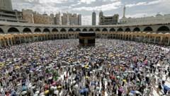 Menschenmassen beim Hadsch 2019 (Bild: APA/AFP/Abdel Ghani Bashir)