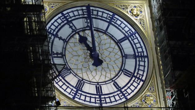 31. Jänner 2020, 23.00 Uhr London-Zeit: Die Briten sind draußen. (Bild: APA/AFP/ISABEL INFANTES)