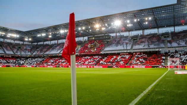 In der Bullen-Arena kommt es zu Umbauarbeiten (Bild: GEPA pictures/ Jasmin Walter)