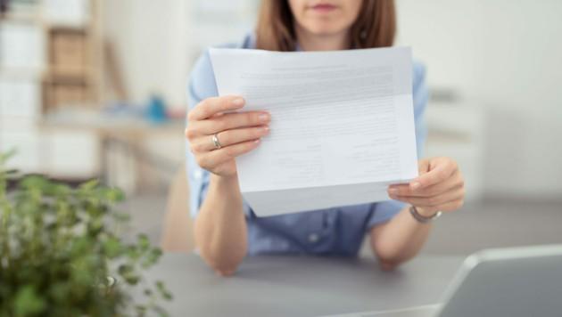 Weil sie die Bezahlung einer Rechnung vergessen hatte, erhielt eine Leserin eine Mahnung (Symbolbild). (Bild: ©contrastwerkstatt - stock.adobe.com)