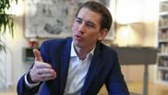 Sebastian Kurz (ÖVP) in einem Interview mit der Kronen Zeitung Ende Februar (Bild: Gerhard Bartel)