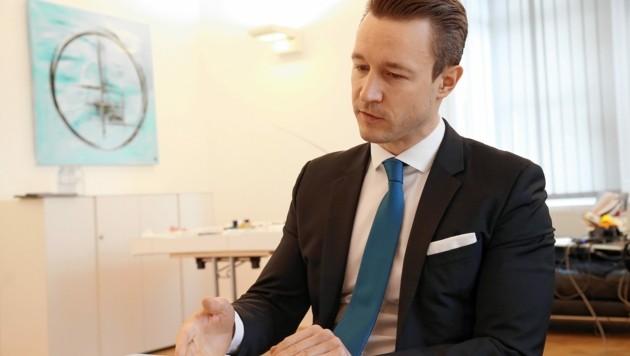Finanzminister Gernot Blümel (Bild: Klemens Groh)