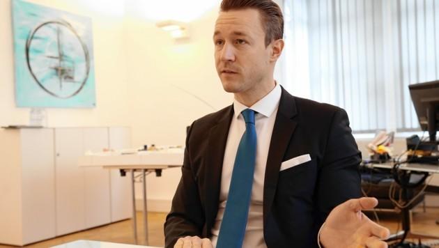 Gernot Blümel, Chef der Wiener ÖVP (Bild: Klemens Groh)