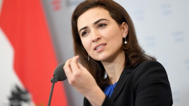 Justizministerin Alma Zadic (Bild: APA/ROLAND SCHLAGER)