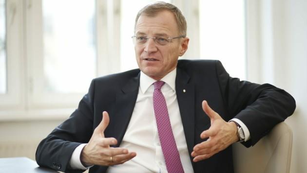 Oberösterreichs Landeshauptmann Thomas Stelzer (Bild: Reinhard Holl)