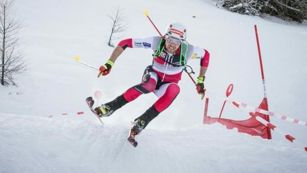 Wilde Abfahrten sind für Skibergsteiger Daniel Zugg (noch) nicht möglich. (Bild: Daniel Zugg)