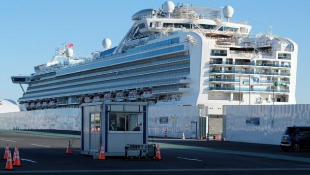 Der Kapitän geht als Letzter von Bord: An diese maritime Regel hielt sich Gennaro Arma, Kapitän des Corona-Kreuzfahrtschiffes Diamond Princess. (Bild: AFP)