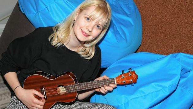 Musik ist ihr größtes Hobby. Es wurde sogar schon ein eigenes Album aufgenommen. (Bild: Rojsek-Wiedergut Uta)