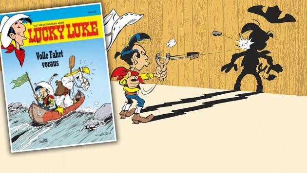 (Bild: Lucky Comics 2020 by Achdé d'après Morris)