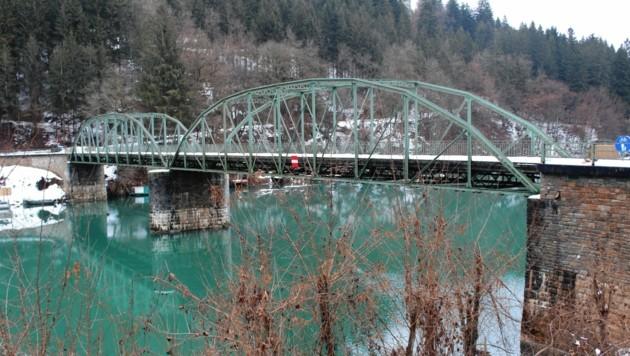 Die Lippitzbachbrücke bei Ruden. (Bild: Gerlinde Schager)