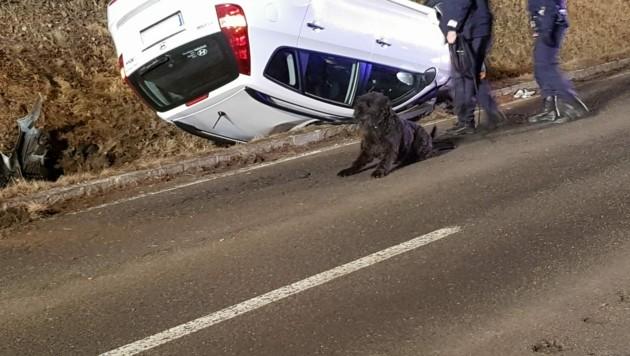 Bei Verkehrsunfall überschlagen