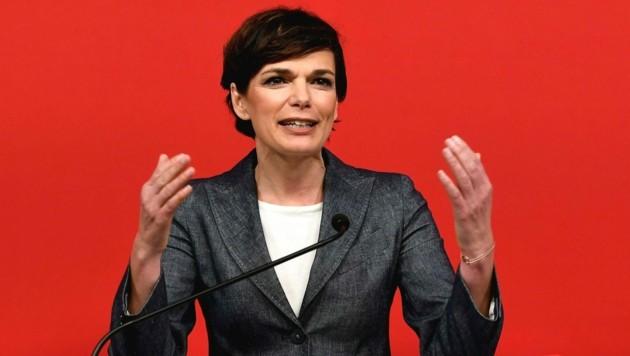 SPÖ-Chefin Pamela Rendi-Wagner (Bild: APA/Helmut Fohringer)