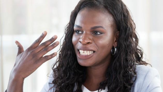 Mireille Ngosso (Bild: APA/GEORG HOCHMUTH)