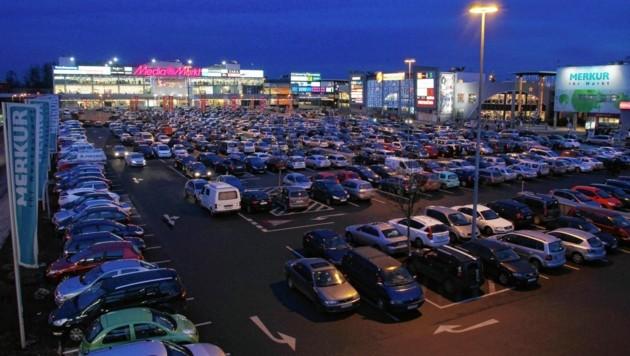 Die Shoppingcity Seiersberg (Bild: Jürgen Radspieler)