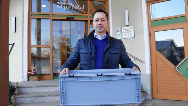 Er war der letzte Bürgermeister der Gemeinde Murfeld, die im Jänner aufgelöst wurde: Werner Grassl. (Bild: Christian Jauschowetz)