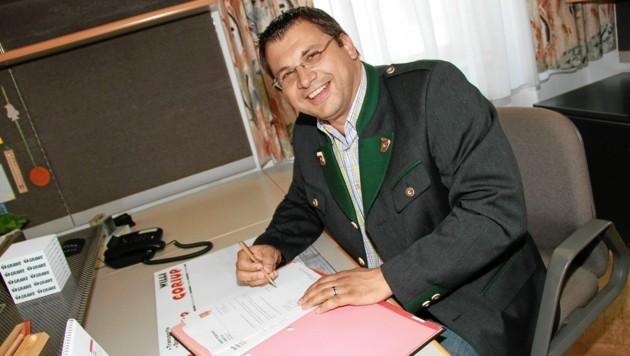 Karl Habisch - Bürgermeister von Arnfels (Namensliste) (Bild: Josef Fürbass)