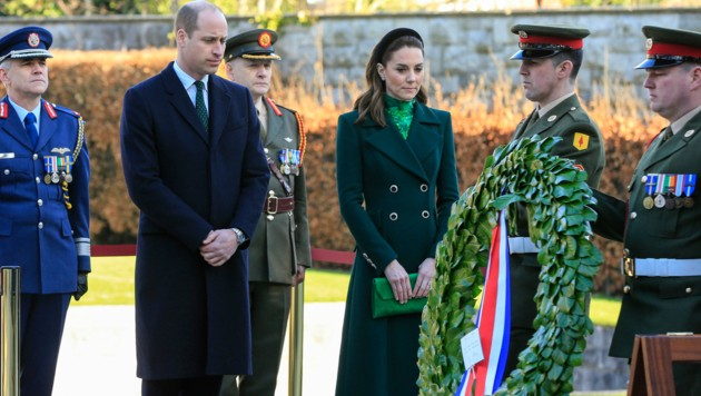 Herzogin Kate und Prinz William (Bild: AFP)