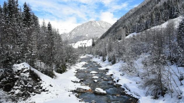 """1998 haben Umwelt- und Landwirtschaftsministerium sowie der WWF den Kalser Bach zum """"Flussheiligtum"""" gemacht. (Bild: WWF Vincent Sufiyan)"""