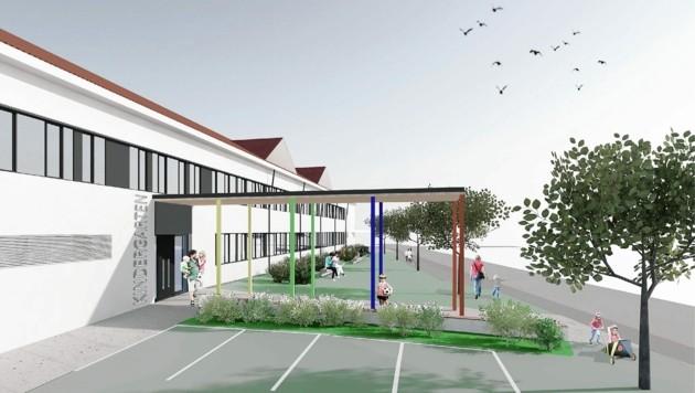 Die dritte Bauphase startet 2021. (Bild: Stadtgemeinde Spittal an der Drau)