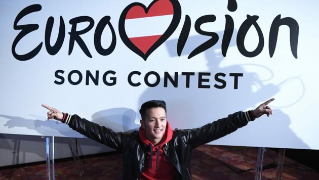 Vincent Bueno startet für Österreich beim 65. Song Contest. (Bild: APA/ROBERT JAEGER)