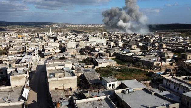 Gefechte in der Provinz Idlib (Bild: AFP)
