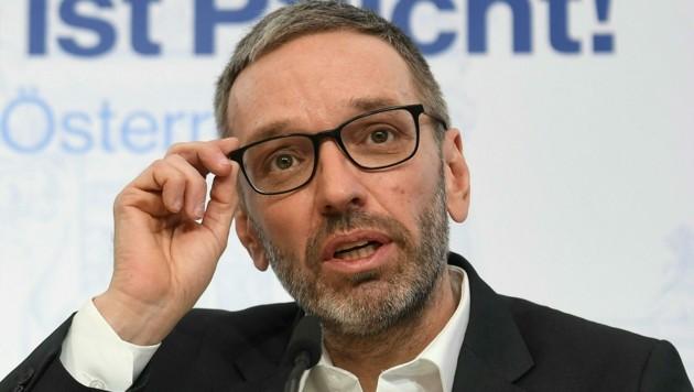FPÖ-Klubchef Herbert Kickl